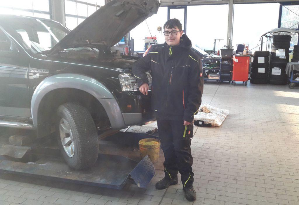 Berufsorientierung KFZ Mechaniker