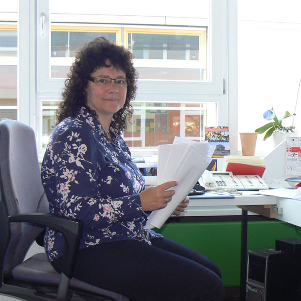 Angelika Guth Sekretärin