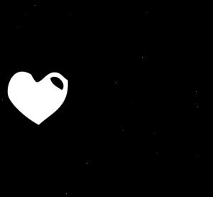 Grafik Menschen Kopf mit Herz