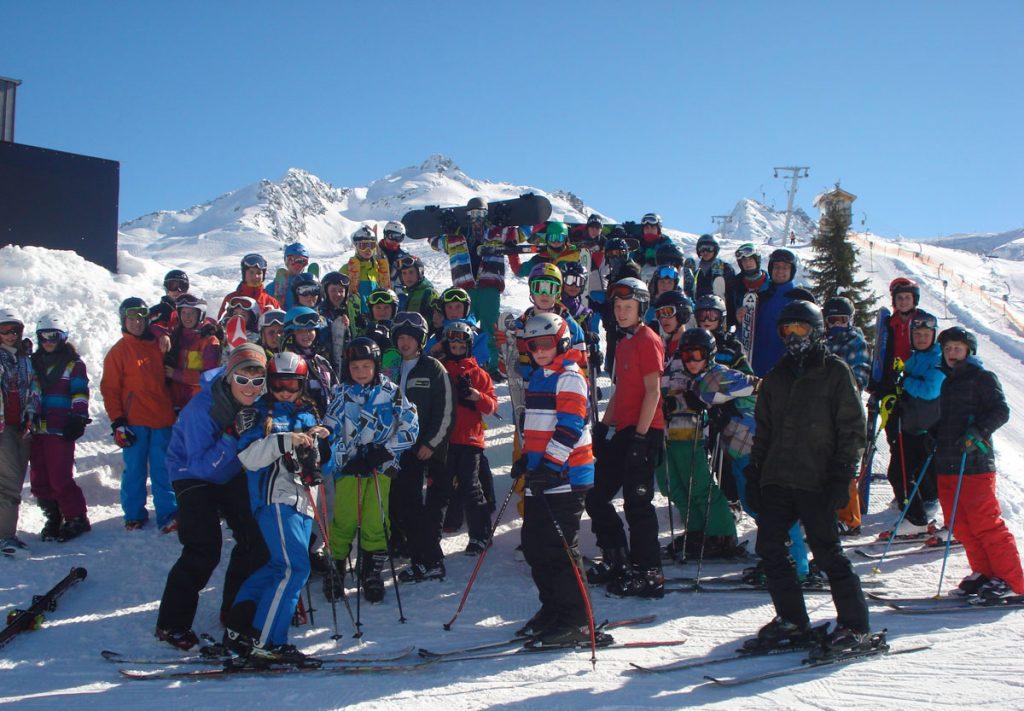 Foto vom Skitag